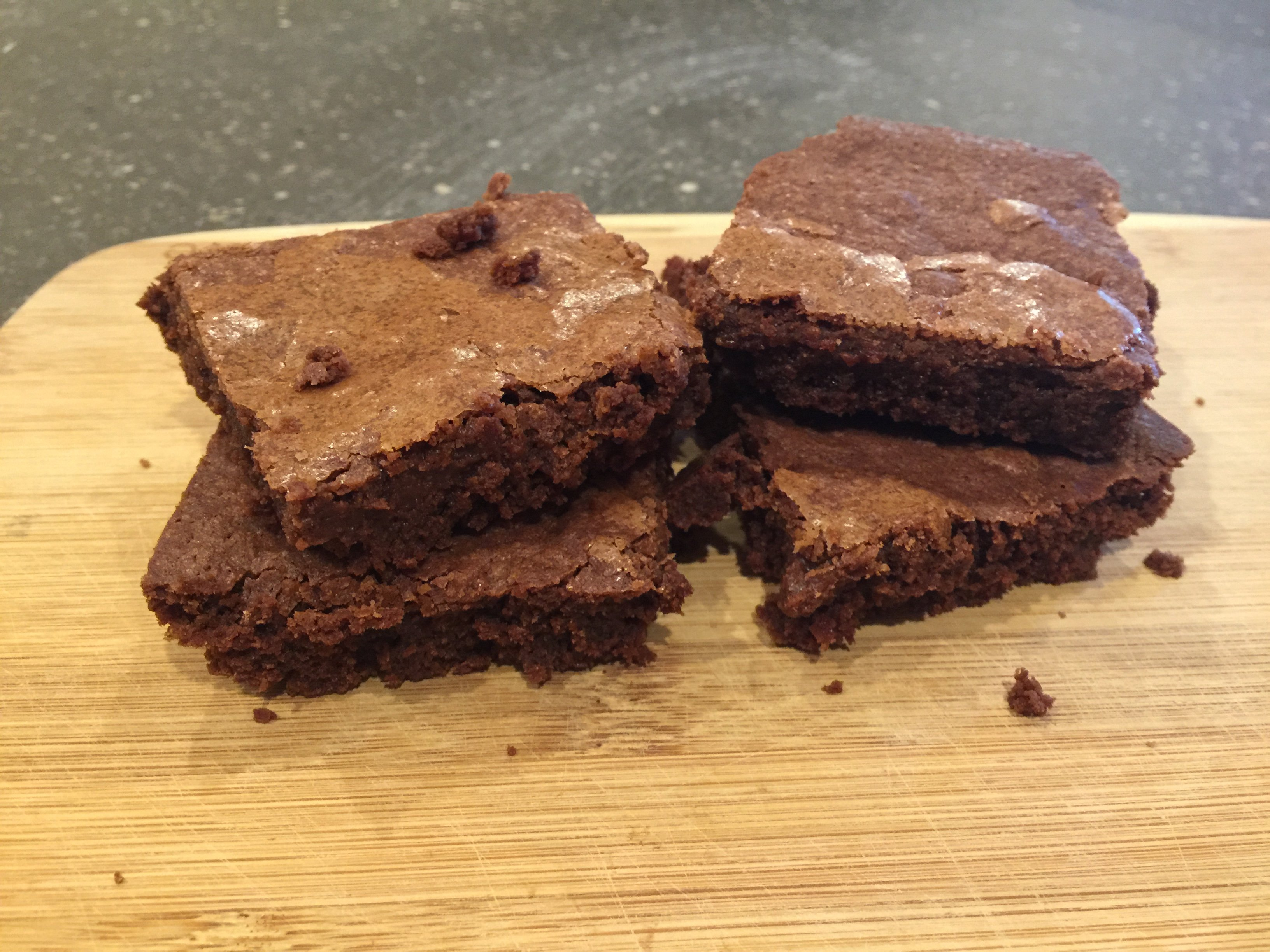 The Best Fudgy Brownie that Any Modern Steader Could Ask For